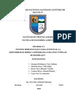 Informe Final de Aguas subterraneas