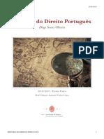 Sebenta História do Direito Português