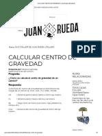 CALCULAR CENTRO DE GRAVEDAD