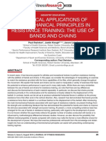 PRACTICAL APPLICATIONS OF BIOMECHANICAL PRINCIPLES IN RESISTANCE TRAINING
