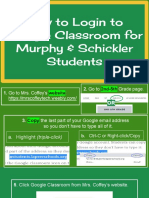 How to Login to Google Classroom From a Computer or Laptop