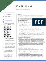 kean ong - resume