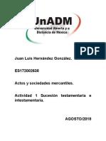 Actividad 1 Sucesión testamentaria e intestamentaria.docx