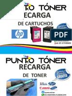 CATALOGO PUNTO TONER