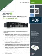 Aprisa XE Datasheet FCC 2500 MHz