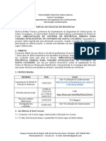 Edital Bolsistas UFSC SDE