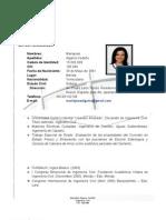 Curriculum Mariajose Algarra
