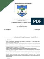 Planificación Módulo IV 2020 PhD Ilka López