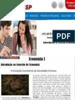 Economia I O Desenvolvimento Economico