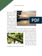Lugares de observación de Flora y Fauna