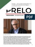 Ivo Castro - intervju entrevista