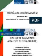 DISEÑO RECICLADO DE PAVIMENTO