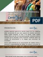 manual presentacion personal Centro Sur