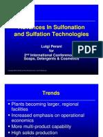 Advances in Sulfonation Technologies