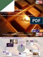Cadbury Campaign Results Dec 2010