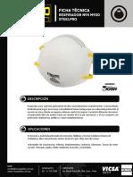 Respirador Descartable N95 M920 Ficha Técnica.pdf
