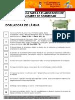 STD Dobladora de Lámina