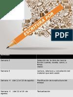 Escritura - Ecribir por proceso Visiones críticas del cine.pptx