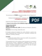 TÉCNICAS DE ARGUMENTACIÓN Y EXPRESIÓN ORAL Y ESCRITA.