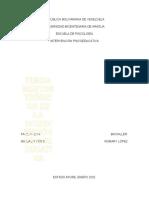 FUNDAMENTOS TEÓRICOS DE LA INTERVENCIÓN PSICOEDUCATIVA