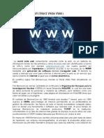 Historía de WWW