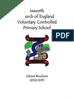 School Brochure 2010 - 2011 - Dec Update