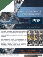 # 5 MODELOS DE ALMACENAJE.ppt