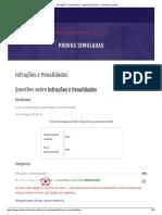 Infrações e Penalidades - Autoescola Online - Ronaldo Cardoso