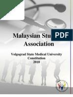Msa Vsmu Constitution 2010