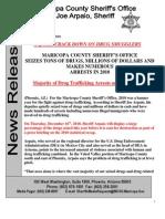 Arpaio on Drug Seizures