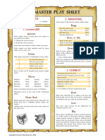 Warmaster Play Sheet