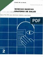 Manual de tecnicas basicas para un laboratorio de salud