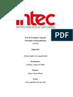 Abstract análisis de competitividad