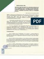 Resolución Senacsa vacunación