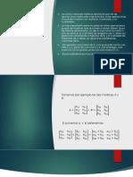 Operaciones Con Matrices.