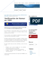 B-2a Verificación de Namur en 1990