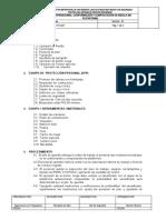 PRO-PE-007 CONFORMACION Y COMPACTACION DE MEZCLA EN PLATAFORMA