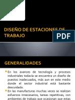 DISEÑO DE ESTACIONES DE TRABAJO
