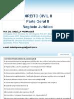 Aula 01 - Apresentac-a-o Civil II Prof Isabella Paranagua