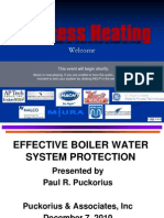 Boiler Water System Protection Ppt Puckorius201012