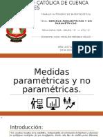 Medidas Parametricas y No Parametricas