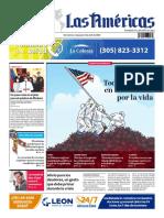 DIARIO LAS AMÉRICAS Edición impresa del viernes 3 al jueves 9 de abril de 2020