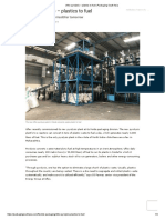 Uflex Pyrolysis – Plastics to Fuel _ Packaging South Asia