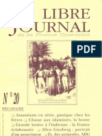 Libre Journal de la France Courtoise N°020