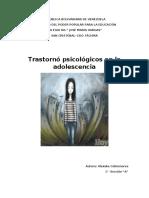 ADQUISICIÓN DE INFECCIONES DE TRASMISIÓN SEXUAL DE LOS ADOLECENTES