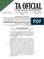 Gaceta Oficial Extraordinaria 6523