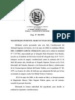 SALA CONSTITUCIONAL (TACHA DE FALSEDAD)