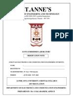EC8711 EMBEDDED LABORATORY Lab Manual
