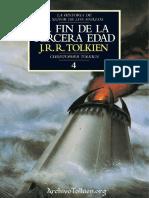 El fin de la Tercera Edad - J. R. R. Tolkien