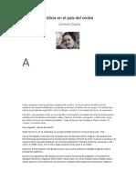 Alicia en el país del olvido - Damián Stiglitz